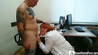 Bbw Gets ass Pounded Hard By A Tattooed Lad