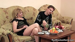 Drunk Russian Mature Marina Sc