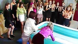 Foot porn at work in fetish scenes video clip