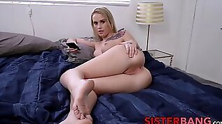 Sister Layla Love point of view fucked and splattered with spunk
