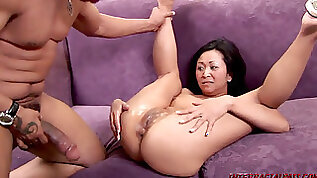 Kitty Langdon opened up out By a big black cock