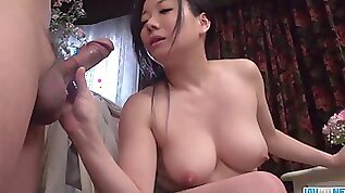 Chesty Shino Izumi likes fellating the cock until orgasm