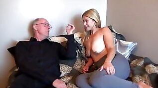 Old man fuck young wife