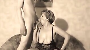 Retro Look at a Wife Being Shared with Strangers homemade