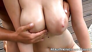 Hottest pornstar in Incredible Big Tits College sex clip