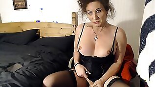All About The Hard Tranny Gilf Cock With Mature Ts Celine