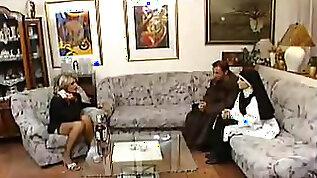 Grandma Karola and the nun