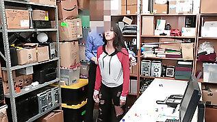 LP officer puts advanced interrogation tactics on latina suspect Sophia Leone