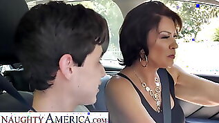 Naughty America Mrs. Fuller Vanessa Videl teaches Juan how