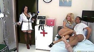 Busty Doctor Jenna Presley Joins Tasha Reign To Fuck Her Boyfriend