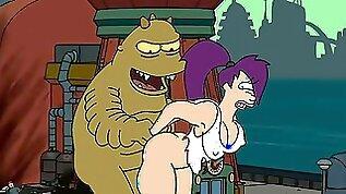 Futurama hidden orgies