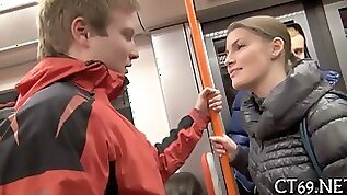 Euro babe picked up in public and fucked