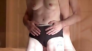 Fit wife hassexy intense orgasm with pussy contractions