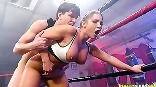 Sport MILF Fucked In All Holes At The Wresling Ring