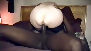 Cuckolds Wife Gets A Dark Black Cock Full Of Juice.
