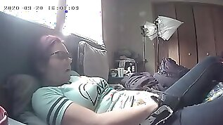 Cougar Ambled in on Draining Gushes in Rage and Then Ejaculates Nasty Stiff Covert Webcam