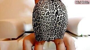 Morena Latina gostosa rabuda vestido on?Doggystyle cowgirl lingerie Instagram tiktok Mini Robin