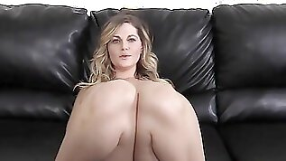 Big Tits Fucked In The Ass on Casting Couch