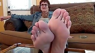 American Granny Soft Mature Soles and Feet
