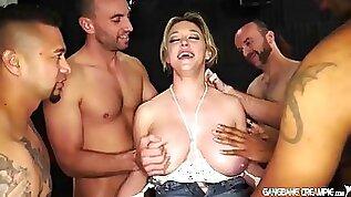 Dee williams gets multi guy creampied by huge cocks