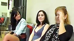 Spanish mom not her daughter and young duo