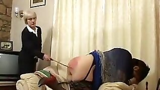 Crazy Amateur record with BBW Spanking scenes