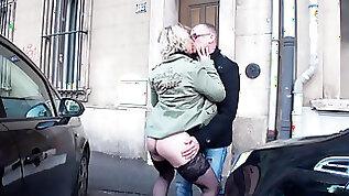 French Porn Gang fuck amateur MILF