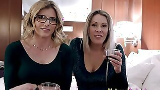 Arranged Threesome fuck with my Busty Step Mom and Aunt Cory Nikki Brooks