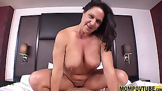 Sodomized Copulated and Hoochie Coochie Creampie GILF POINT OF VIEW HQ fellatio