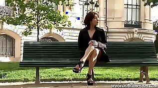 French whore fuck in public