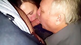 Cuck wife lick Bullfriend together