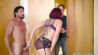 Busty hot wife Tory Lane cheating on hubby with therapist