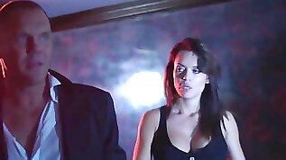 Huge boobs ho Franceska Jaimes anal pounded in the club