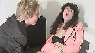Sandra Fox Fisting and Lesbian Fun with other women