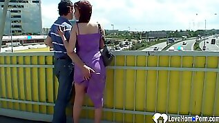 Older Slut Is Pounded By Her Boy Outdoors Video