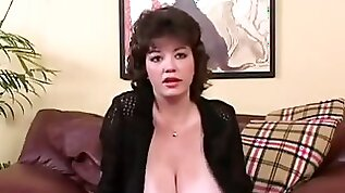 This MILF can put you in a trance just by the sight of her huge boobs