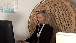 Mother Id like to fuck blond secretary enjoys hawt anal pounding