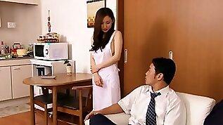 Cute Asian MILF Kaori Saejima Gets Vibrating Toys inserted