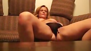 MILF likes to talk dirty while fucked