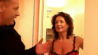 Horny dude Bruno from Italy asks a real slut to please his dick