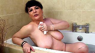 Christina X in Bathing Movie AtkHairy