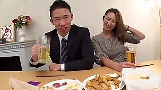 Rena Fukiishi Affiliate Wifes Affair Actually Exists At The New Years Party Where Classmates Gather