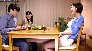 Asahi Mizuno gets creampied in pussy by her sisters man. PPPD
